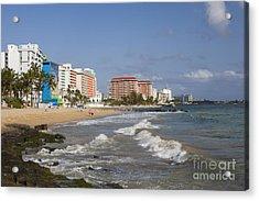 Condado Beach San Juan Puerto Rico Acrylic Print