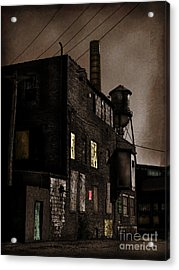 Condemned Acrylic Print by Colleen Kammerer