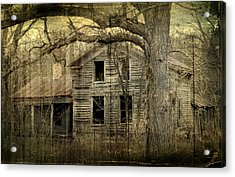 Condemned From Life Acrylic Print by Melissa Smith