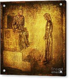 Condemned Via Dolorosa1 Acrylic Print