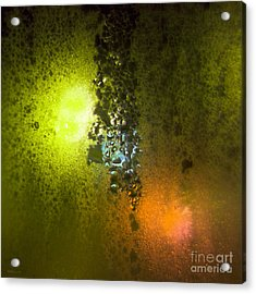 Condensation 08 - Saga - Citrus Acrylic Print by Pete Edmunds