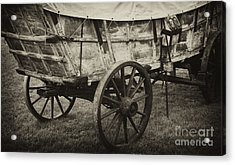 Conestoga Wagon Acrylic Print by Paul W Faust -  Impressions of Light