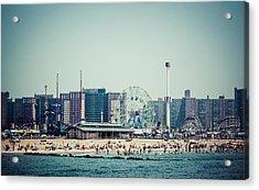 Coney Island Dream Acrylic Print by Frank Winters