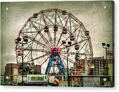 Coney Island Wonder Wheel  Acrylic Print