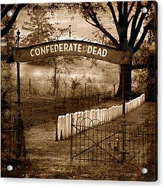 Confederate Dead Acrylic Print
