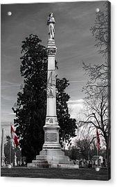 Confederate Monument Acrylic Print