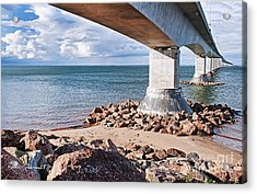 Confederation Bridge Acrylic Print