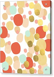 Confetti- Abstract Art Acrylic Print