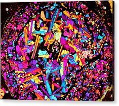 Confetti Canon Ball Acrylic Print