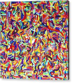 Confetti Acrylic Print by Patrick OLeary