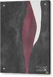 Acrylic Print featuring the painting Confidence by Ilona Svetluska