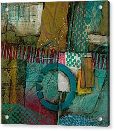 Conflict Of Space And Time Acrylic Print by Laura  Lein-Svencner