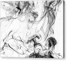 Confusion Acrylic Print by David Mcchesney