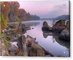Congaree River At Dawn-1 Acrylic Print