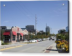 Congaree Vista District In Columbia South Carolina Acrylic Print
