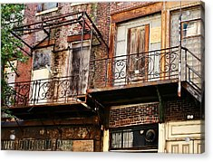 Acrylic Print featuring the photograph Conglomerate by Greg Jackson