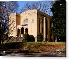 Congregation B'nai Isreal  Acrylic Print by Jerry Grissom