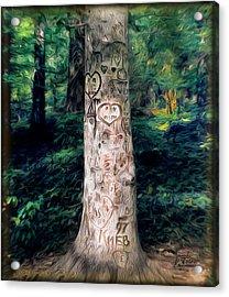 Congressional Woods Acrylic Print