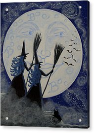 Conjuring Constellations Acrylic Print by Christine Altmann