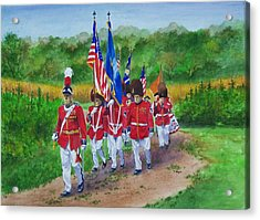 Connecticut Governor's Foot Guard Acrylic Print