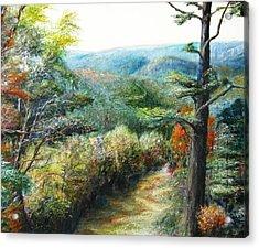 Connecticut Trail Acrylic Print