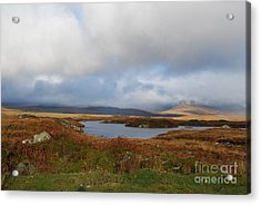 Connemara Bog Road Acrylic Print by Lynda Cookson