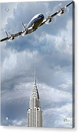 Connie And The Chrysler Acrylic Print
