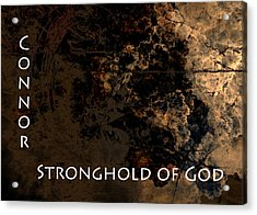 Connor - Stronghold Of God Acrylic Print