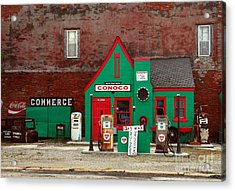 Conoco Station On Route 66 Acrylic Print