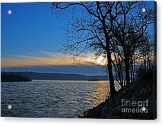 Acrylic Print featuring the photograph Conowingo Sunrise by Olivia Hardwicke