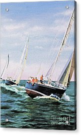 Acrylic Print featuring the painting Conquistador Cup by Karol Wyckoff