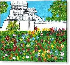 Conservatory Acrylic Print
