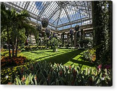 Conservatory Acrylic Print by Phil Abrams