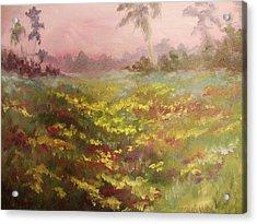 Consider How The Wild Flowers Grow Acrylic Print