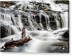 Constant Flow Acrylic Print by Bill Cantey