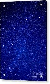 Constellation Cassiopeia  Acrylic Print by Thomas R Fletcher
