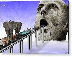 Consumerism Acrylic Print