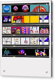 Contact Sheet Acrylic Print