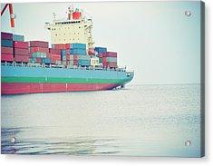 Containership Acrylic Print