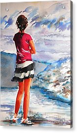 Contemplation Acrylic Print