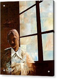 Contemplation Acrylic Print by Laurend Doumba