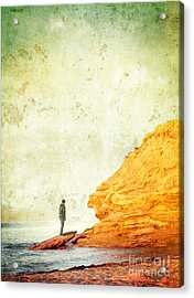 Contemplation Point Acrylic Print by Edward Fielding
