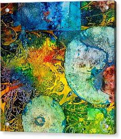 Contempo Five Acrylic Print by David Raderstorf