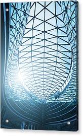 Contemporary Architecture In Milan Acrylic Print by Cirano83
