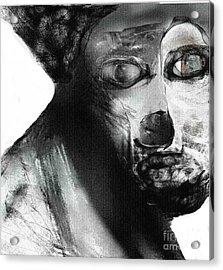 Contemporary Clown Acrylic Print by Rc Rcd