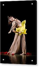 Contemporary Oriental Dance Acrylic Print