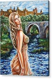 Contessa De Carcassonne Acrylic Print