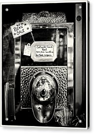 Continental French Roast Acrylic Print by Tanya Harrison