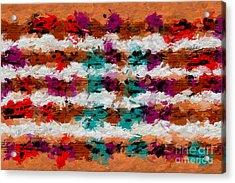 Acrylic Print featuring the digital art Contrapuntal Fiesta by Lon Chaffin