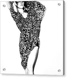 Contrast Acrylic Print by Eugenia Kirikova